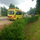 Fietser gewond bij de Rondweg