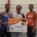 'Almar klimt tegen MS' levert meer dan € 12.000,- op