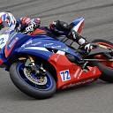 Eenzame race voor motorcoureur Koen Meuffels.