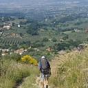 Voetreis naar Rome door Dick en Greta van Spijker