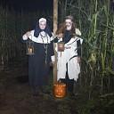 Spooktochten in het Groot Sallands Maïsdoolhof