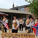 Zonnig optreden Country Dancers Ankum/Witharen in Heino