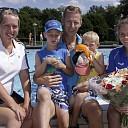 25000ste bezoeker voor openluchtzwembad De Meule (Nieuwleusen)