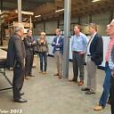 B&W Dalfsen op bezoek bij Den Boer Baking Systems.