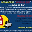 Speciaal voor inwoners van Hoonhorst en omstreken