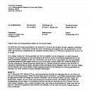 Brief gemeente Dalfsen naar Provincie