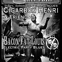 Uniek Cigarbox blues dubbelconcert in de St. Louis Blues Tavern