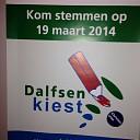 Dalfsenkiest posters politieke kleur?