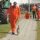 Opmeten Vlaggen record poging Oranjevereniging.