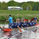 Drakenbootrace was sportief succes!