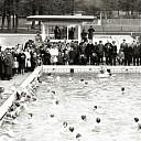 De officiële opening van Zwembad Gerner