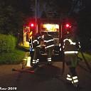 Woningbrand B.H.Spijkersweg Nieuwleusen.