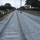 Werk aan het spoor ligt mooi op schema