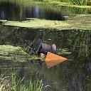 Paard en wagen te water in Laag Zuthem