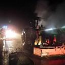 Tractorbrand tijdig geblust op de Vilstersedijk