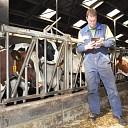 Melkveehouder Arjan zit met smart te wachten op glasvezel