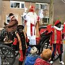 Sinterklaas ook in Oudleusen aan gekomen.