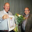 Frits Snel benoemd tot lid van verdienste van SV Dalfsen