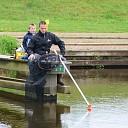 Goede opkomst bij de Vlaggenstok viswedstrijd