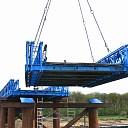 Grote reportage van grote operatie: plaatsing tijdelijke brug
