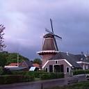Zonsondergang in Hoonhorst