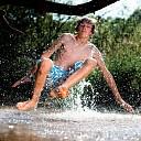 Veilig zwemwater, op zoek naar verkoeling