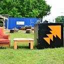 De opbouw Stone Rock Festival gaat in hoog tempo door!