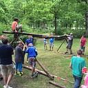 Scouting Dalfsen bouwde mee aan vader-zoon weekend