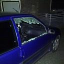 Auto open gebroken in Nieuwleusen
