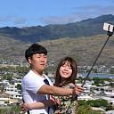 Cameraatje op een stokkie