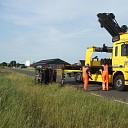 Eenzijdig ongeval met twee gewonden op A28