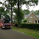 Brand in het dak bij boerderij in Nieuwleusen