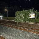 Stormschade station Dalfsen
