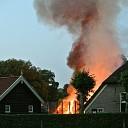 Brandweer Dalfsen rukt uit voor grote brand Lemele