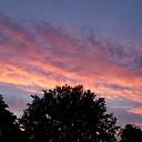 Zonsondergang in het Dalfser Emmen