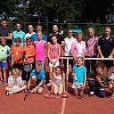 Toss tennis junior-senior bij DLTC Gerner