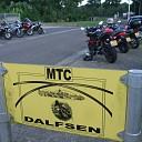 20ste blauwe bogen tocht voor motoren bij MTC Dalfsen