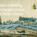 Schilder Pieter Visser schilderde ook in Hoonhorst en Vilsteren