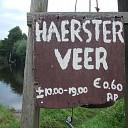 Het Haersterveer over de Vecht bij Zwolle