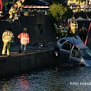 Update 3 Auto te water bestuurder ernstig gewond afgevoerd