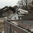 Fotoserie van sloop cichoreifabriek