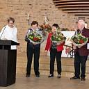3 leden 50 jaar op koor Hoonhorst