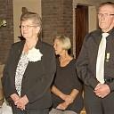 Twee koorleden hebben Gregoriusspeld ontvangen
