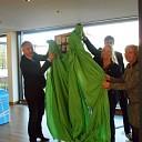 Zuil van Landschapsbeloften siert provinciehuis Overijssel