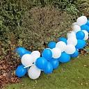 Ballonnen gestolen of gevlogen? Deel gevonden…