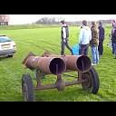 Carbid schieten in de regio Dalfsen.(Video)