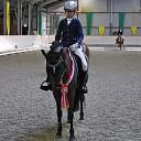 Louise van den Berg 2x kampioen dressuur