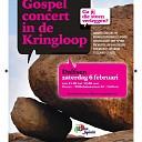 Gospelconcert bij Dorcas Winkel in Dalfsen