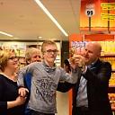 Golden doem voor Albert Heijn na verwezenlijking van Jesse's droom ( Filmpje )