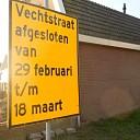 Vechtstraat afgesloten